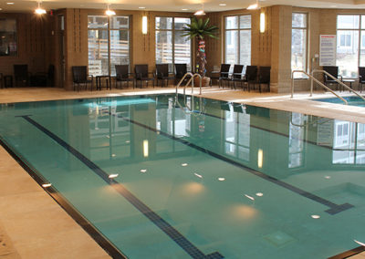 image of swimming pool at the Grand Lodge Aquatic Center