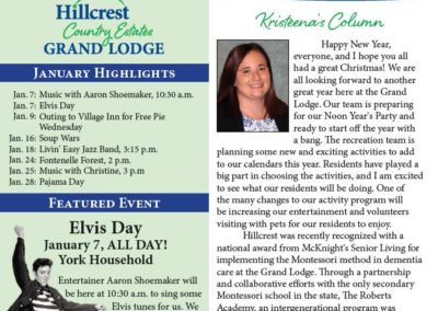 Grand Lodge Newsletters & Calendars