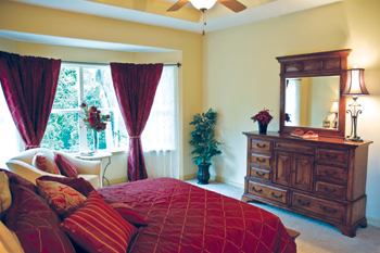 image of bedroom for Signature Villas for Hillcrest Health Services