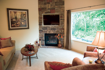 image of livingroom for Signature Villas for Hillcrest Health Services